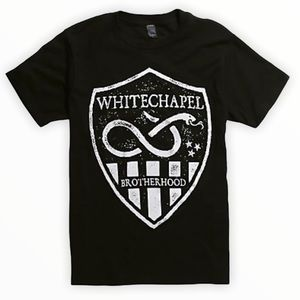 ☀️NWT WHITECHAPEL BROTHERHOOD Crest Black T Shirt
